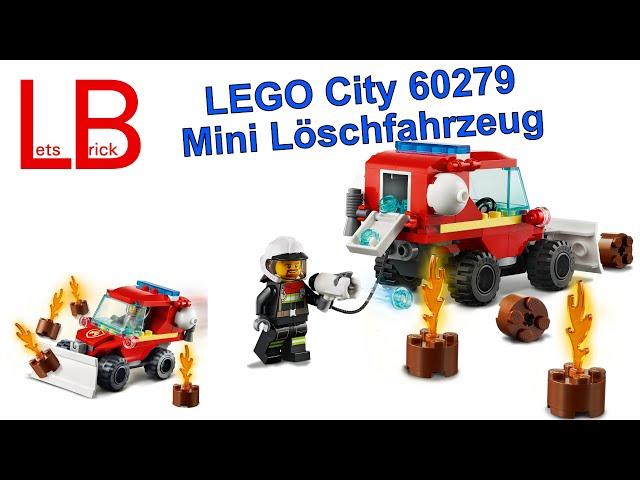 Mini Auto zum Maxi Preis - LEGO® - City - 60279 - Mini-Löschfahrzeug