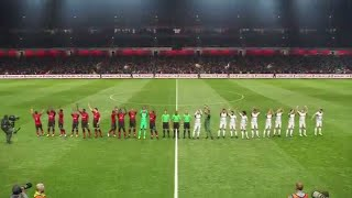 PES 2019 - Gameplay - Manchester United vs Real Madrid   Level: Super Star