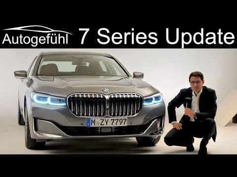 BMW 7-Series Facelift REVIEW Exterior Interior 2020 G11 G12 7 Series 7er - Autogefühl