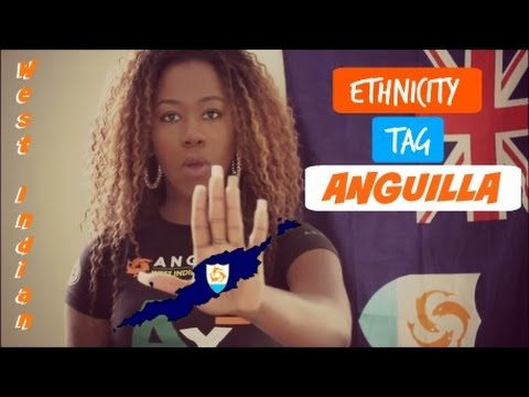ANGUILLIAN ETHNICITY TAG | WEST INDIAN | TAYSDAYS