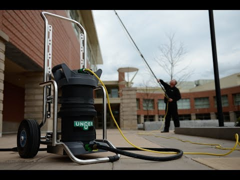 Unger HydroPower Pure Water Window Cleaning System