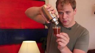curso barista con barista kim - café con hielo deluxe - shakerato.mov