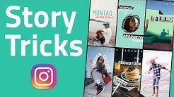 Instagram Story Hacks & Ideen ohne andere App! (auch für WhatsApp Status)