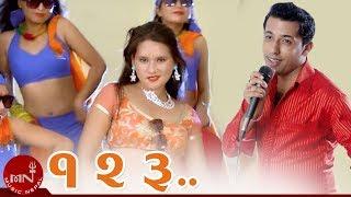 New Nepali Dance Hit 1,2,3 by Khuman Adhikari, Dhankumari Thapa Saru & Deepa Rai HD