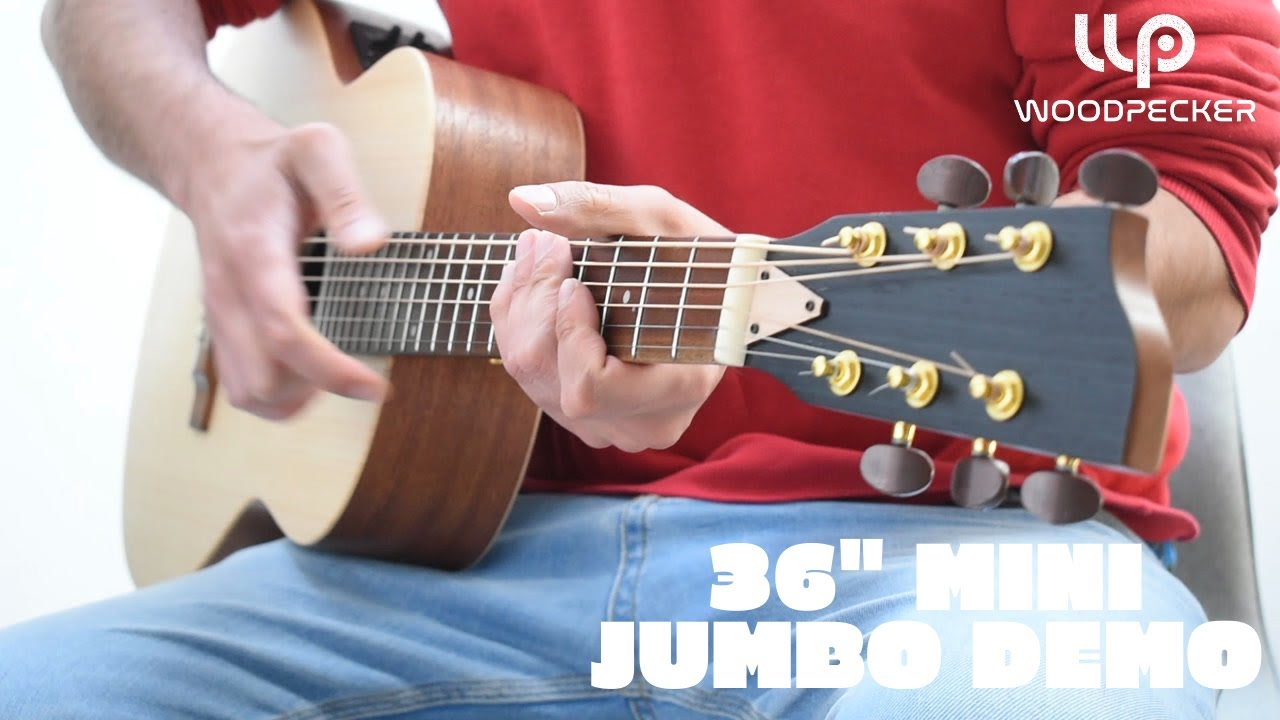 "36"" Woodpecker Mini Jumbo Demo 