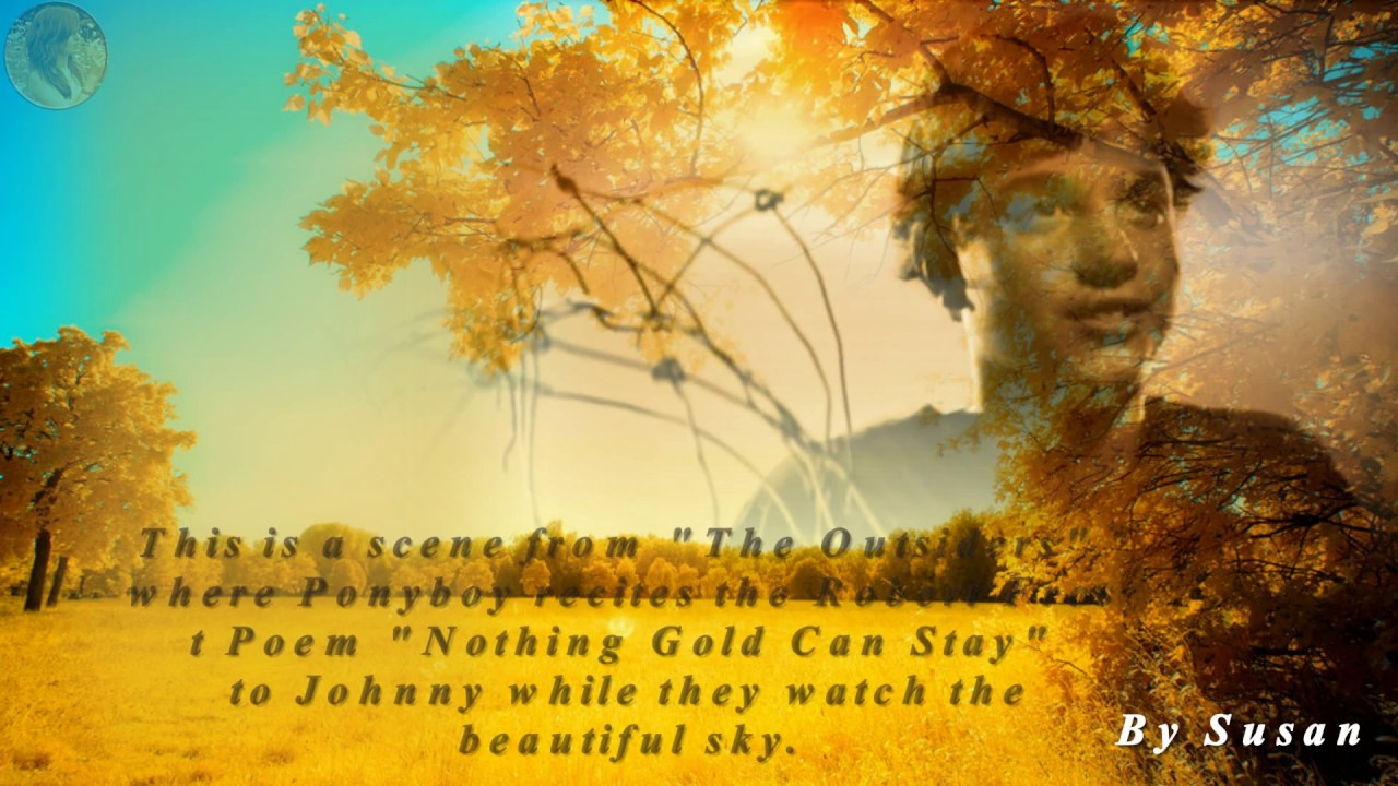 Essay about nothing gold can stay