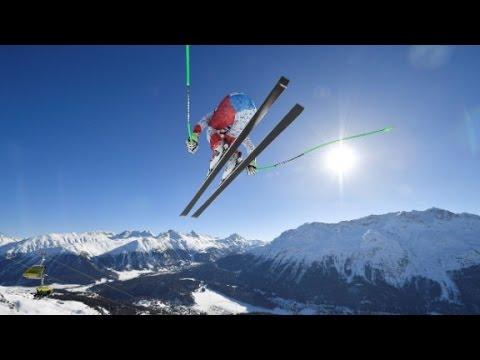 Watch Ski Stars Thrill Crowds in World Championships!