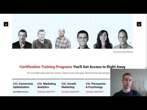 In-Depth Review Of ConversionXL Certified Optimizer Training - Learning CRO Skills In 160 Hours?
