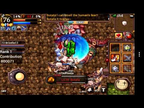 Ragnarok Valkyrie Uprising Raw Abyss Dungeon Boitata Novice Youtube