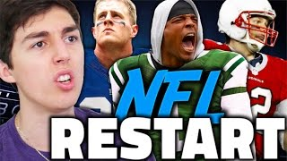 WHAT IF THE NFL RESTARTED AND HAD A FANTASY DRAFT! MADDEN 17 FRANCHISE MODE