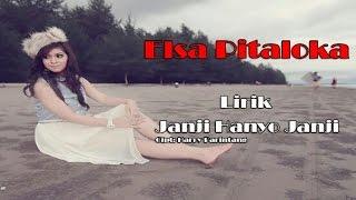 Elsa Pitaloka - Janji Hanyo Janji (Lirik)