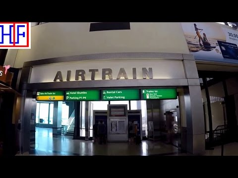 Train from New Jersey Newark Liberty International Airport (