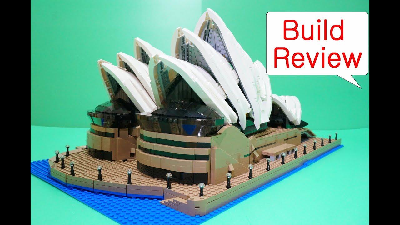 Lego 10234 Sydney Opera House Stop Motion Build