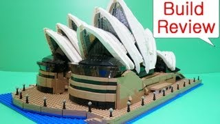 Lego (레고) 10234 Sydney Opera House - Stop Motion Build Review
