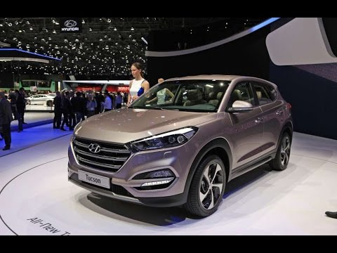 All New Hyundai Tucson 2016 Interior And Exterior The Compact Suv From
