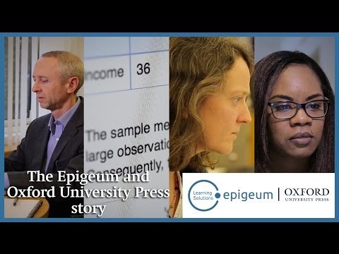 The Epigeum and Oxford University Press story
