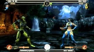 MK9 casuals, GGA 16 Bit (Kitana) vs GGA HAN (Cyrax)