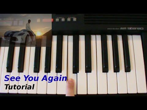 [ITA] See you again (Wiz Khalifa ft. Charlie Puth) Piano Tutorial