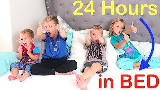 Kids in Charge for 24 HOURS and Won't Get Out of Bed!