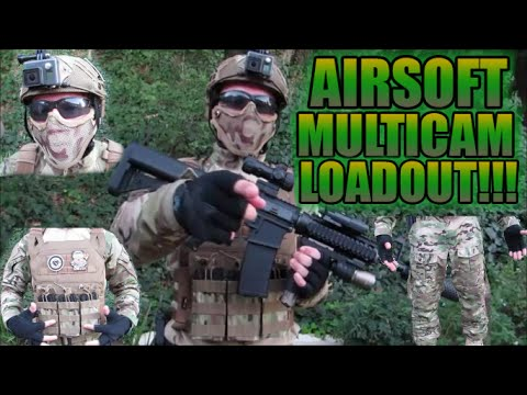 AIRSOFT MULTICAM LOADOUT!!! | AIRSOFT LOADOUT |THE LOADOUT IS FINALLY HERE! - YouTube