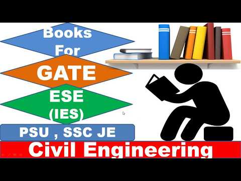 Best Book For GATE and ESE Preparation Civil Engineering