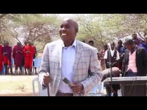Kajiado Governor Lenku sings