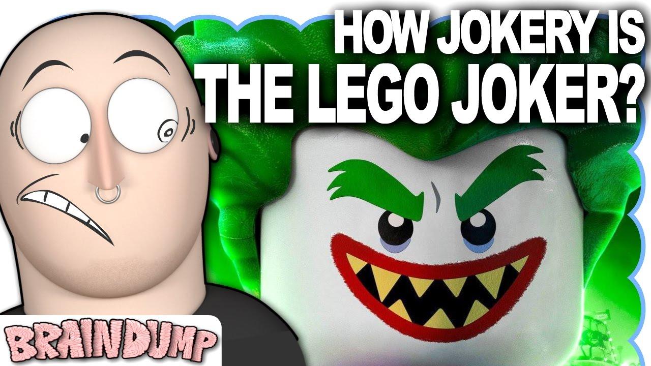 HOW JOKERY IS THE LEGO JOKER? - Brain Dump