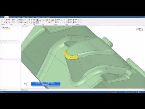 Tips & Tricks in ANSYS SpaceClaim: Geometry Defeaturing