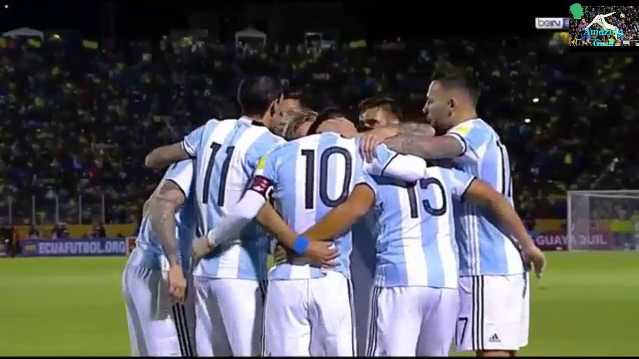 Download Lionel Messi Hat Trick Goal vs Ecuador  Highlights 11/10/2017