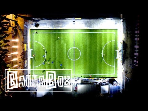 Africa's First Solar Powered Football Pitch!