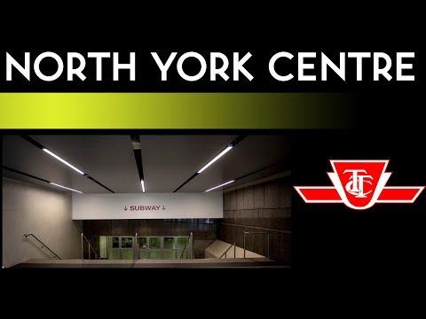 TTC Yonge-University Subway - North York Centre Station Walkthrough