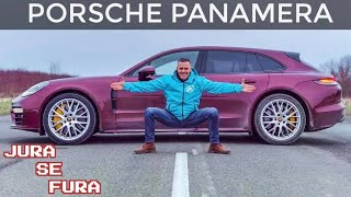 Porsche Panamera Sport Turismo 4S - Jura se fura