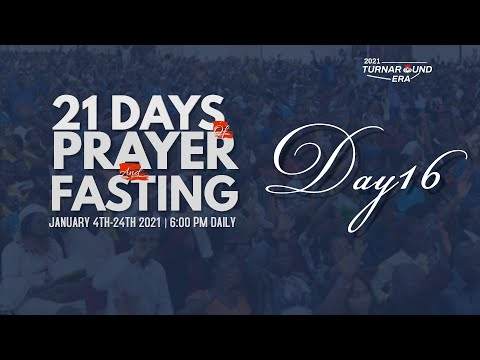 DOMI STREAM: DAY 16 | ANNUAL PRAYER & FASTING | 19, JANUARY 2021 | FAITH TABERNACLE OTA