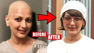 Sonali Bendre New Look 2019 After Cancer Treatment