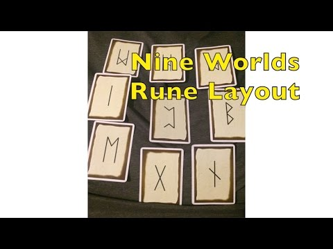 live Q and A - Rune Shamanism The Nine Worlds rune spread -