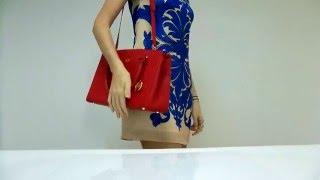 Кожаная сумка женская красная Katerina Fox(, 2016-02-25T20:14:33.000Z)