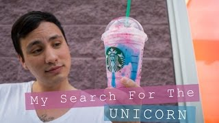 My Search for the Starbucks Unicorn - (Starbucks Unicorn Drink Review) / Keizer, Oregon