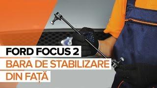 Cum și când se schimba Bieleta bara stabilizatoare față stânga FORD FOCUS II (DA_): ghid video