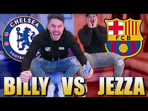 BILLY VS JEZZA | CHELSEA VS BARCELONA! *LIVE REACTION*