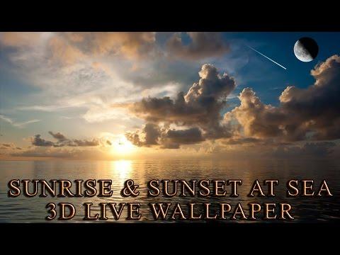 Sunrise & Sunset At Sea thumb