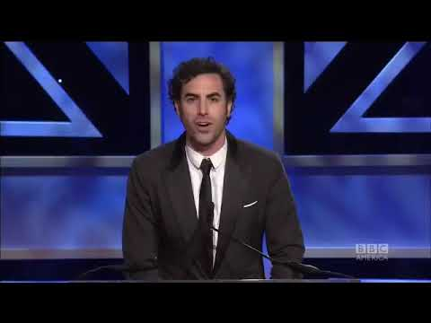 Sacha Baron Cohen Making His Wife Isla Laugh By Messing Up Her Name