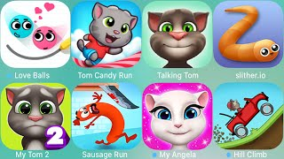 My Tom 2,Angela,Ginger,Ben,LoveBalls,Shots,Tom Camp,Miraculous,Little Kitten,Subway Surf,Sausage