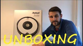 IROBOT Roomba 605 Unboxing