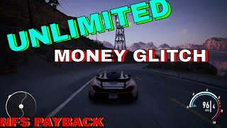 *NEW* UNLIMITED MONEY GLITCH NFS PAYBACK