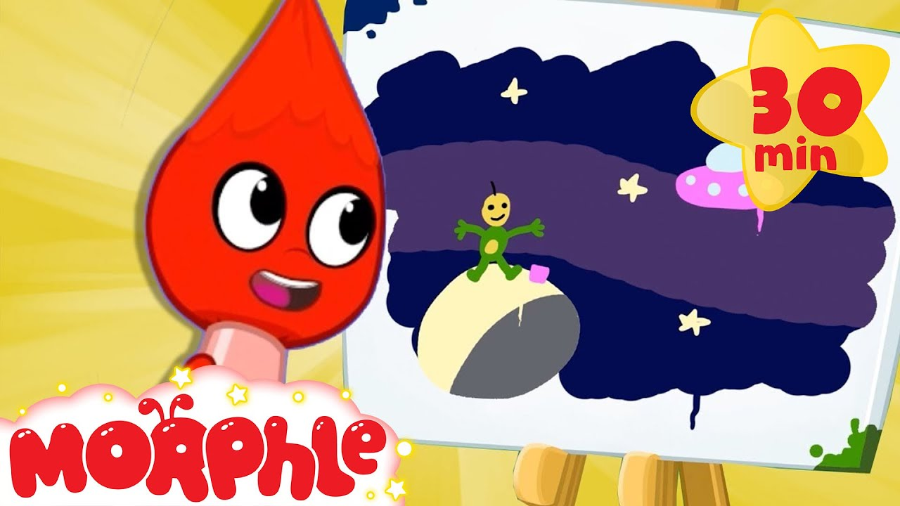 Art Contest - My Magic Pet Morphle | Cartoons For Kids | Morphle TV | Kids Videos