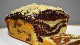 "Кекс ""Мраморный"" к чаю | Классический рецепт | Pie | Cake (Cupcake)"
