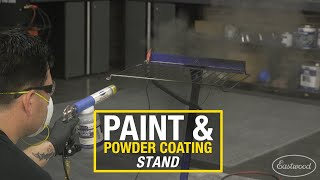 Secure Small Parts While Painting or Powder Coating - Paint & Powder Coating Stand From Eastwood
