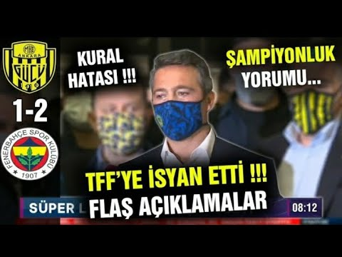 Ankaragücü 1-2 Fenerbahçe Maç Özeti | Ankaragücü Fenerbahçe Maç Sonu Yorumları