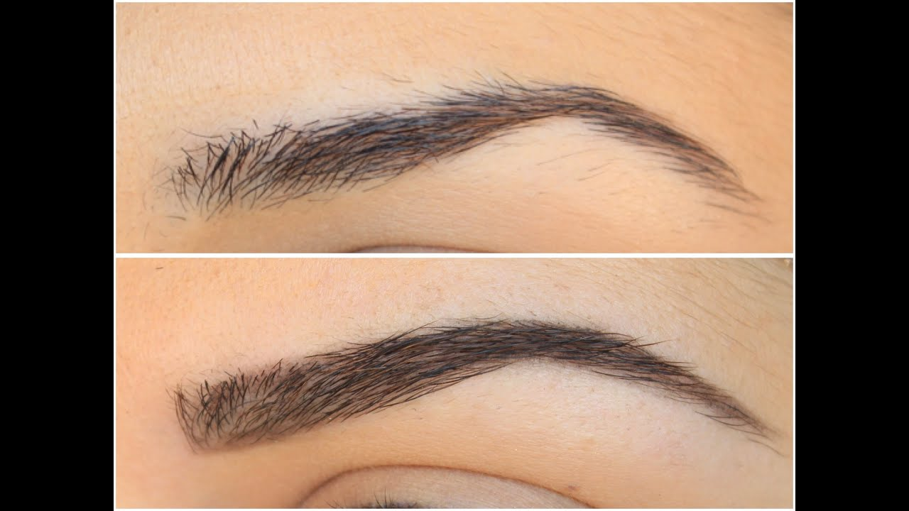 Natural Looking Eyebrows Using Anastasia Beverly Hills Youtube