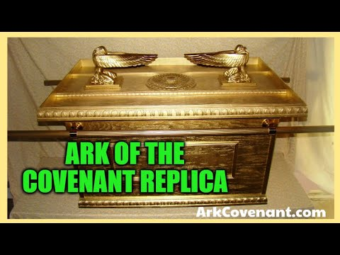 Ark of the Covenant BIBLICAL SIZE as Described in EXODUS Full Size Made of WOOD !